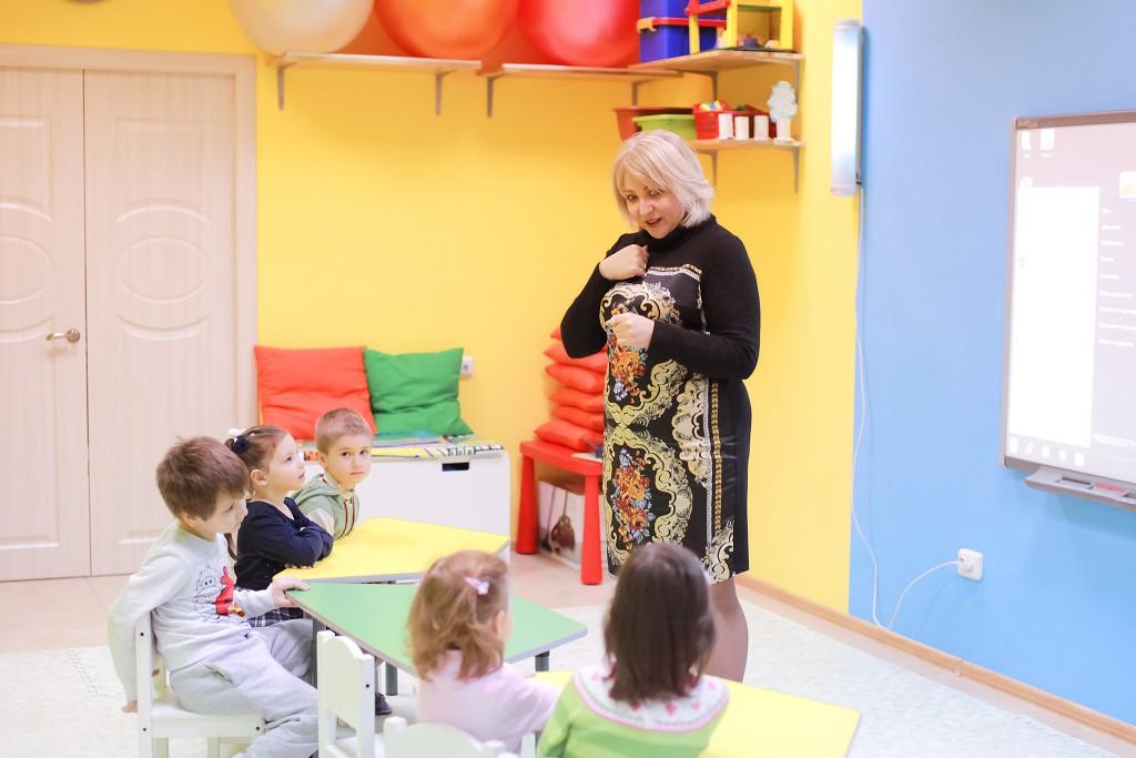 Подготовка к школе в детском клубе Классики